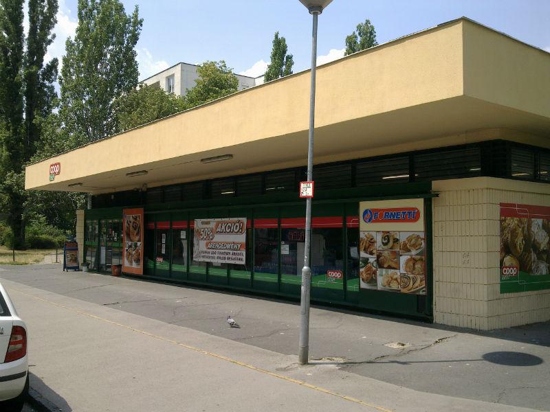 Coop - Csengettyű utca - jozsefattilalakotelep.hu