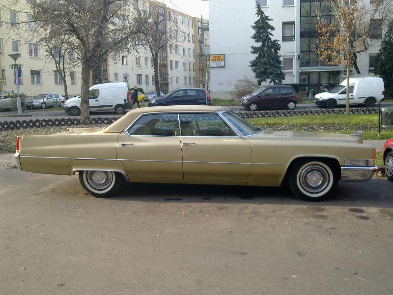 Króm angyal a Dési Huber utcán - Cadillac deVille 1969