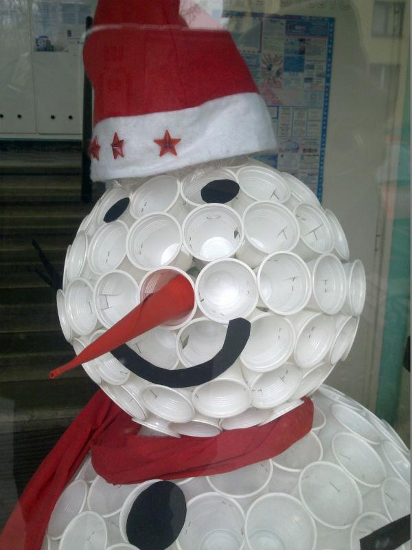 Hóember a lépcsőházban  - Epreserdő utca