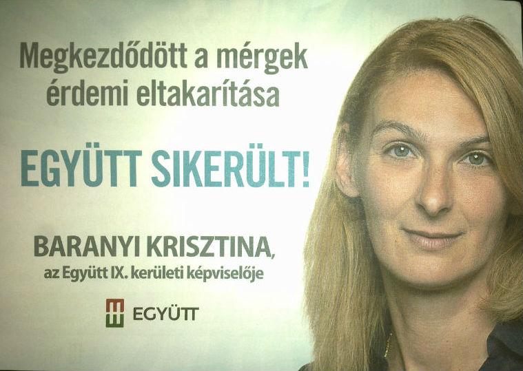 Baranyi Krisztina polgármester lesz? - jozsefattilalakotelep.hu