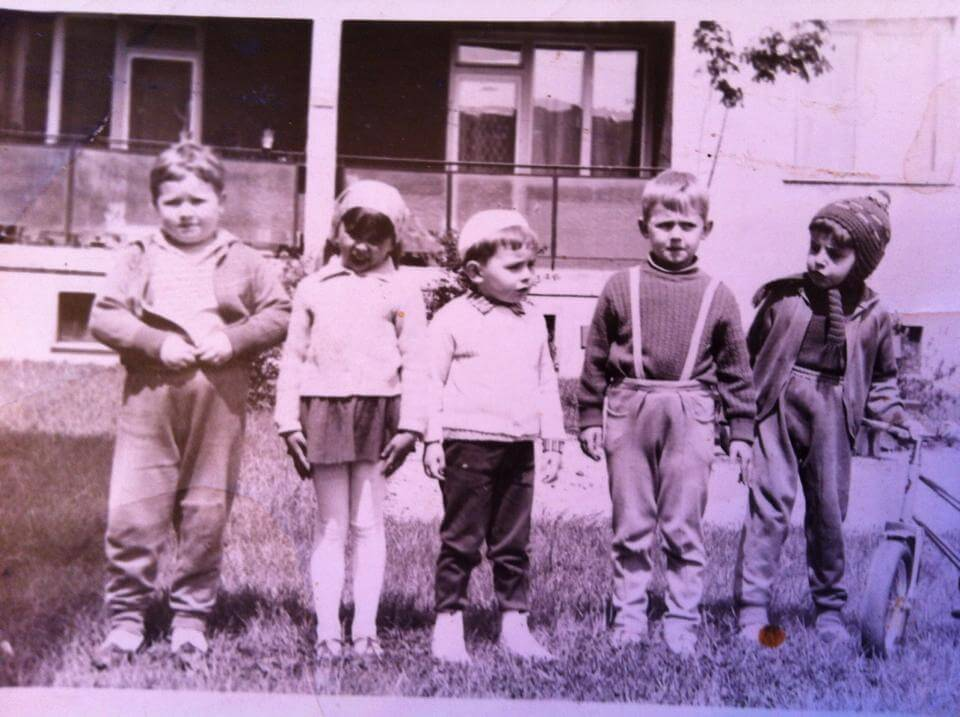 Régi gyerekek - József Attila lakótelep