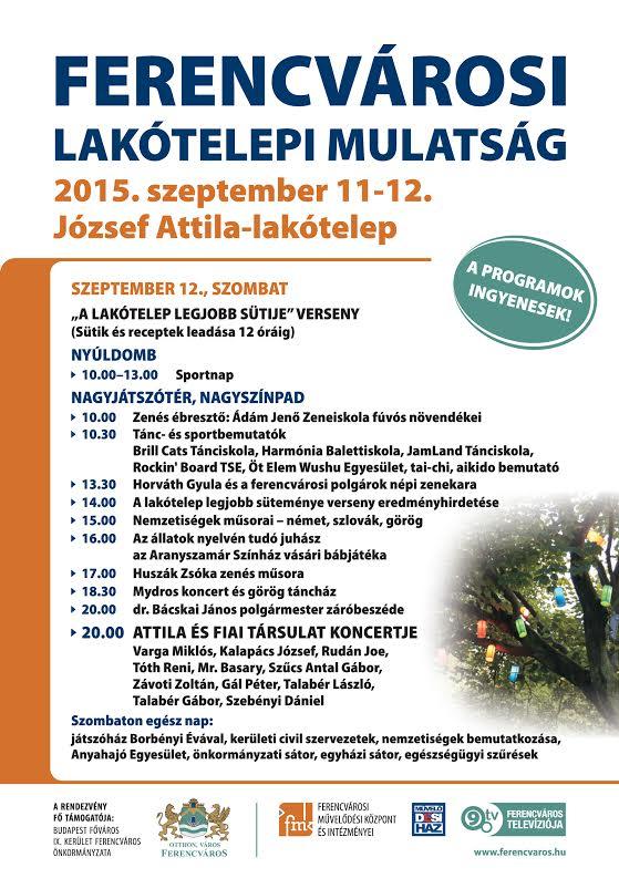 Lakótelepi Mulatság - jozsefattilalakotelep.hu
