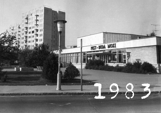 A Pest - Buda mozi 1983 -ban - Régen és Most