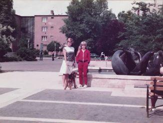 Fókás szökőkút 1985 /Fotó: Lukács Ágnes/