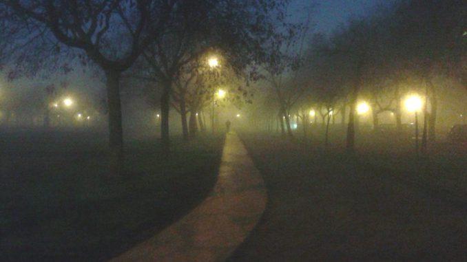 Futópálya télen - József Attila lakótelep