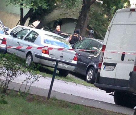 Lövöldözés a Dési Huber utcában