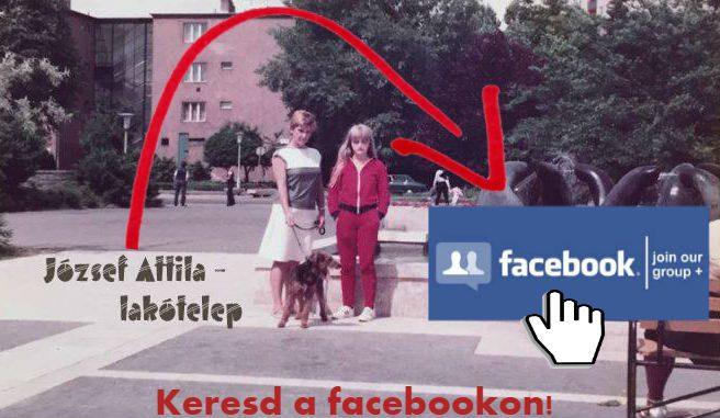 József Attila-lakótelep facebook csoport